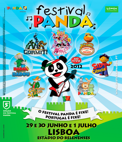 Festival Panda no Estádio do Restelo