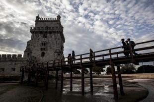 Bruno Almeida-10 de Dezembro de 2013-acesso à Torre de Belém